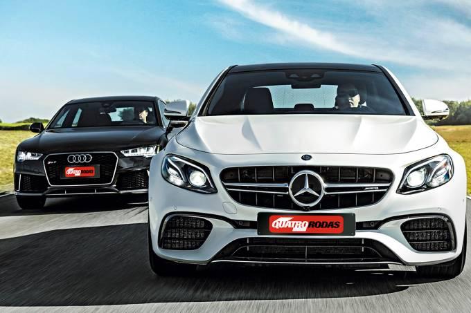 Comparativo: Mercedes-AMG E63 S x Audi RS 7