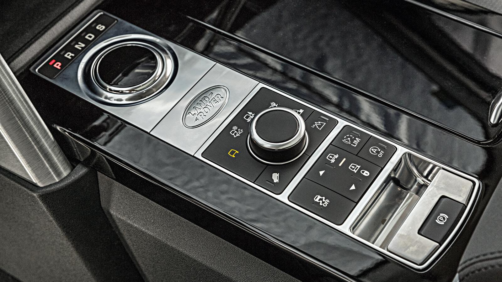 Assim como o Q7, SUV da Land Rover também tem câmbio automático