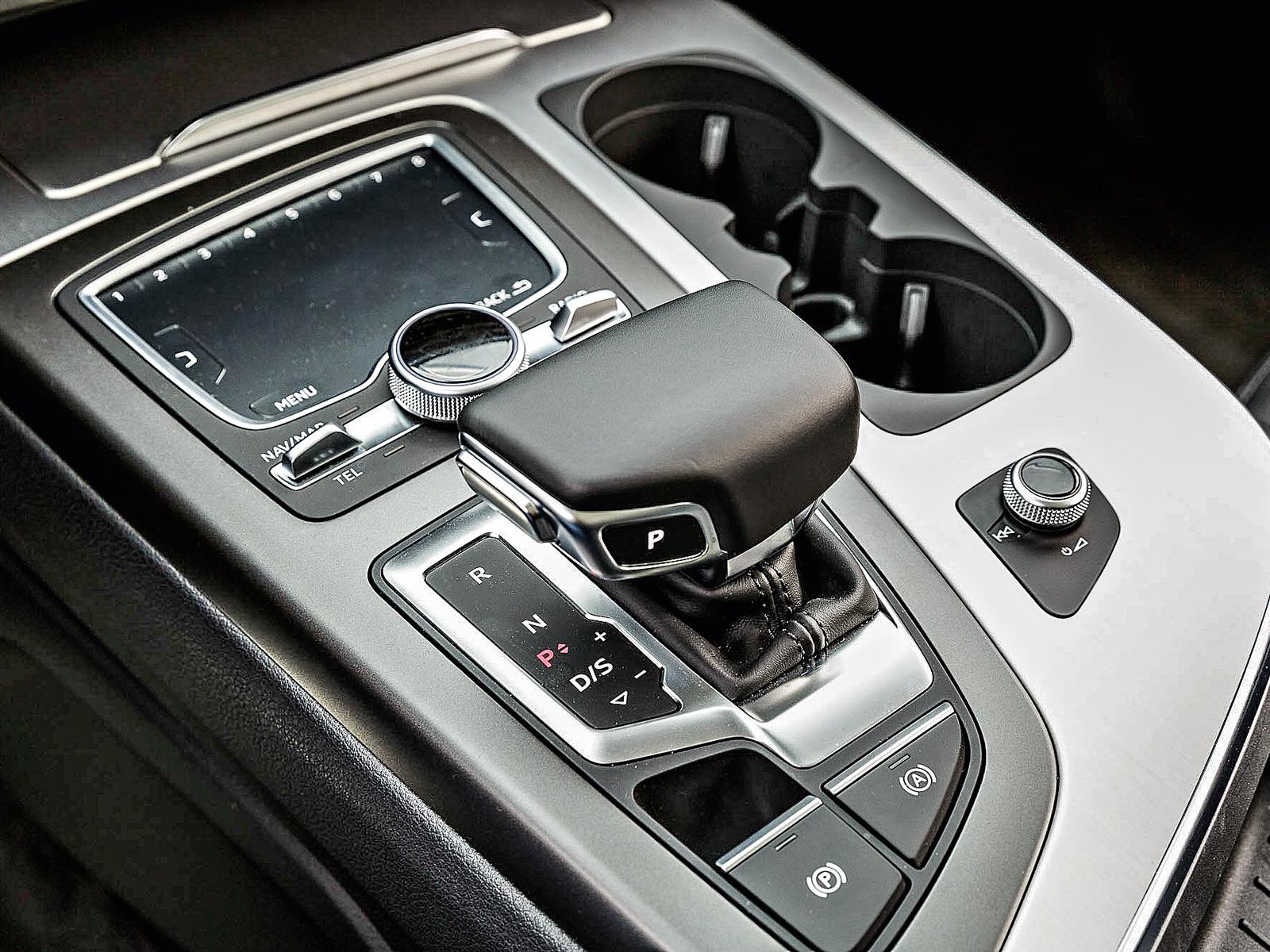 Câmbio do Audi é automático