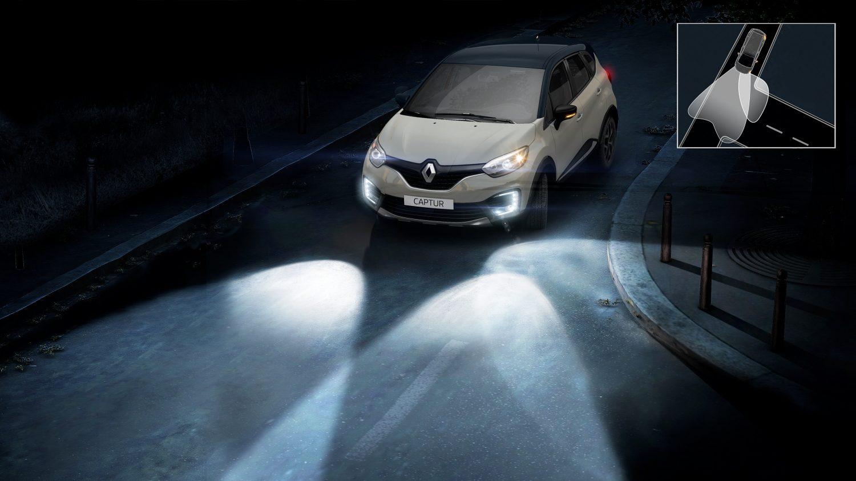 Mais simples, a função de cornering light identifica quando o condutor faz uma manobra