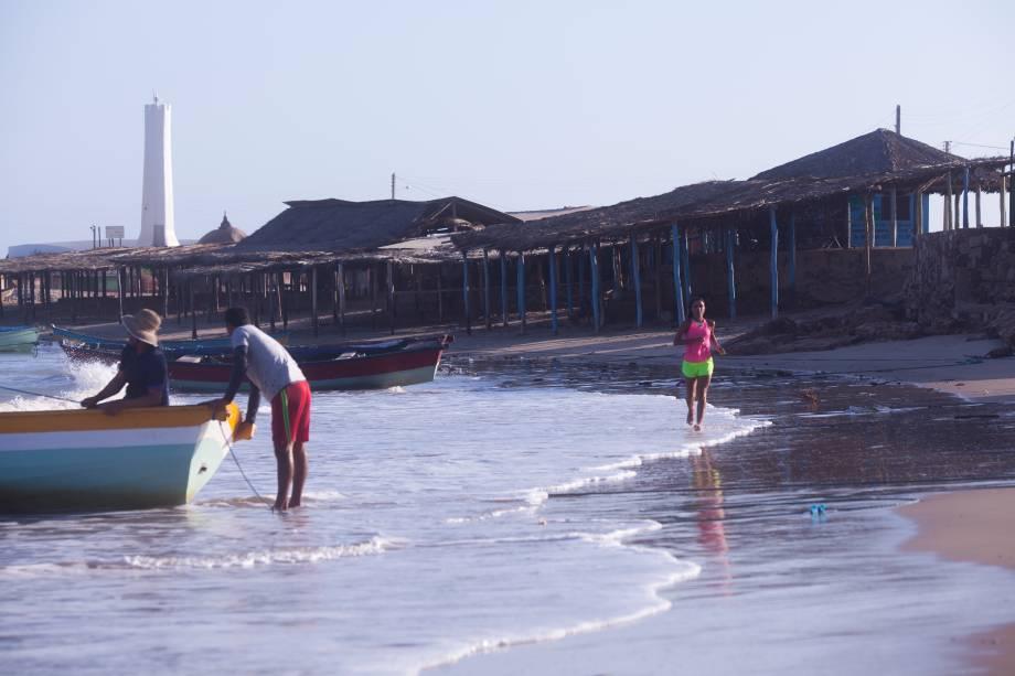 A região tem uma grande comunidade de pescadores