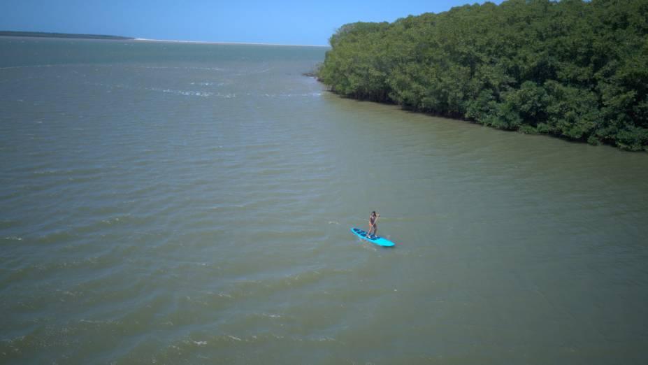 O único delta em mar aberto das Américas fica entre Maranhão e Piauí