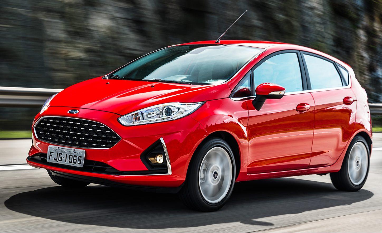 Fiesta 2018 tem novo design frontal