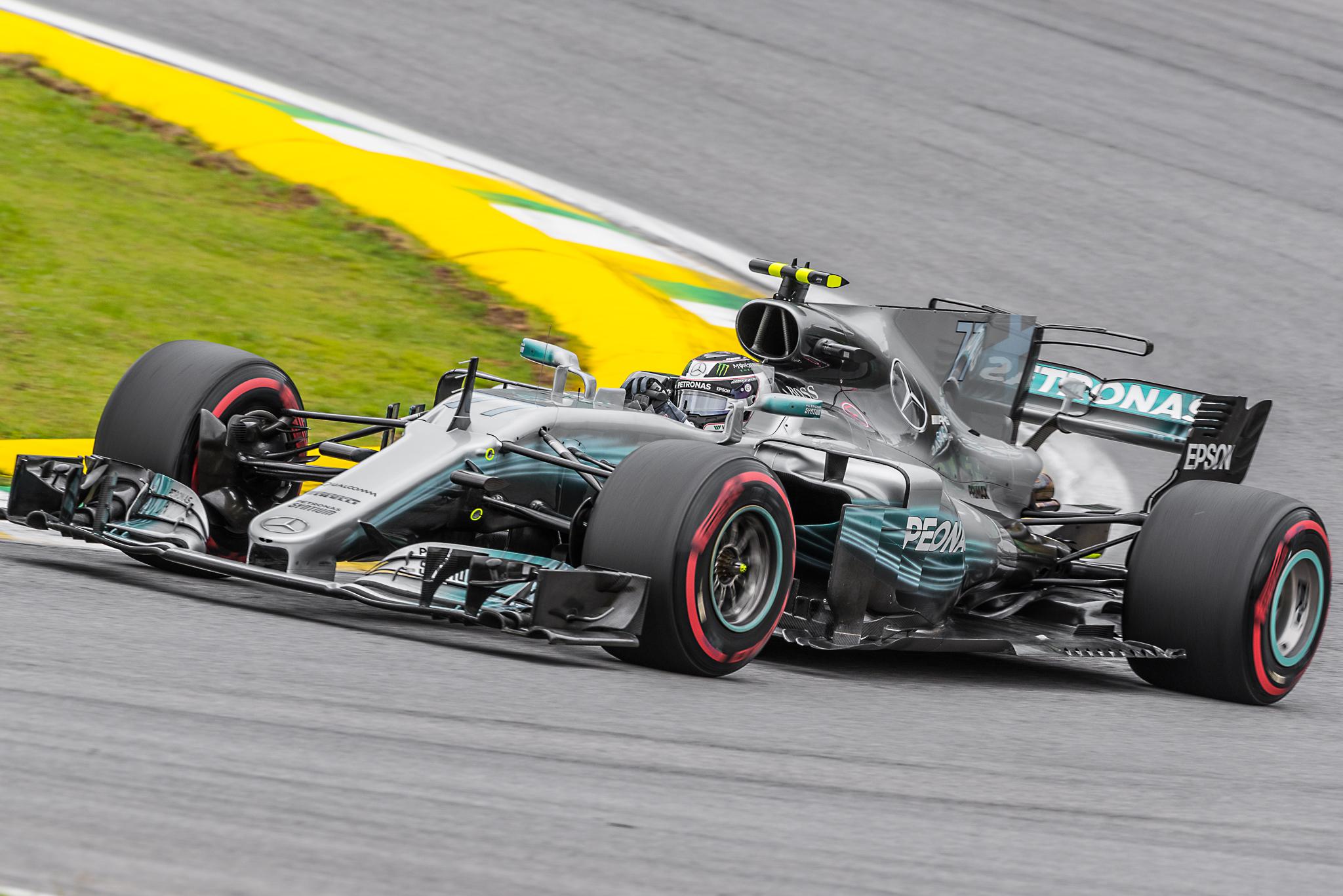 Piloto da Mercedes-AMG, Valtteri Bottas foi o pole position do GP Brasil de F-1 2017