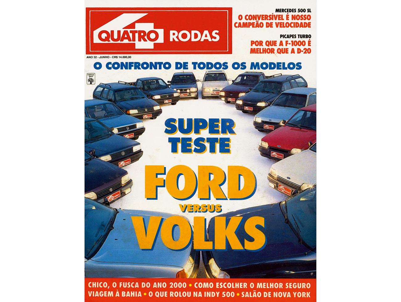 Grandes Comparativos: Volkswagen x Ford