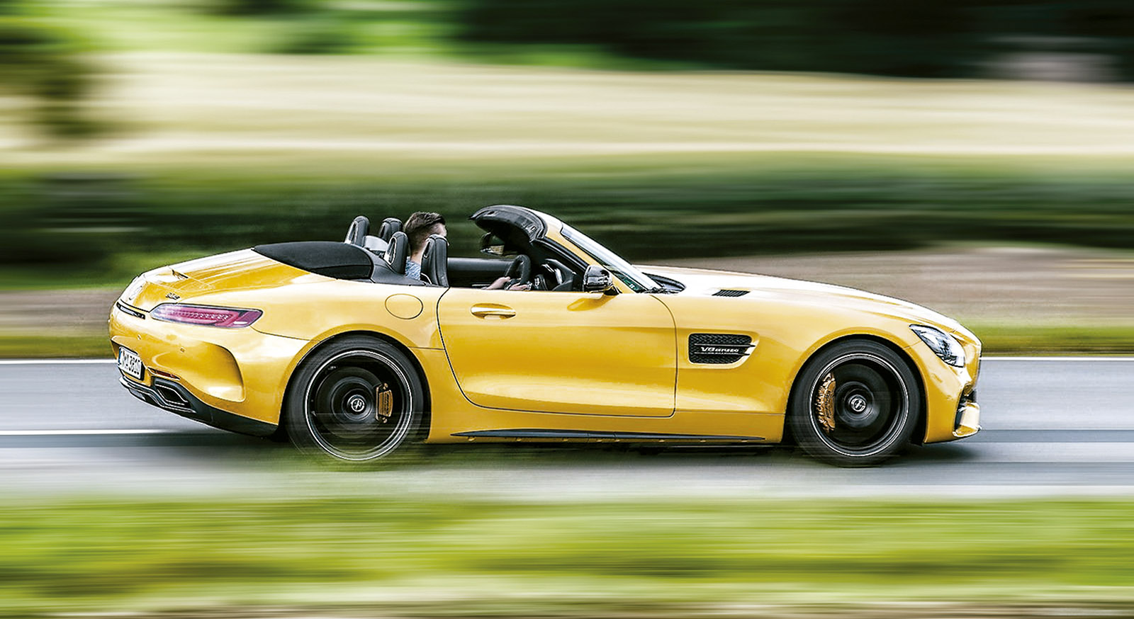 Jeremy Clarkson Mercedes Amg Gt C Roadster Da Frio Na Barriga Quatro Rodas