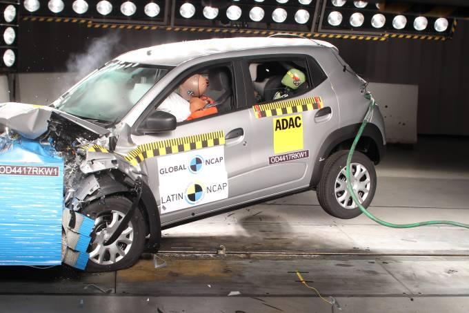 Renault Kwid Latin NCAP 1