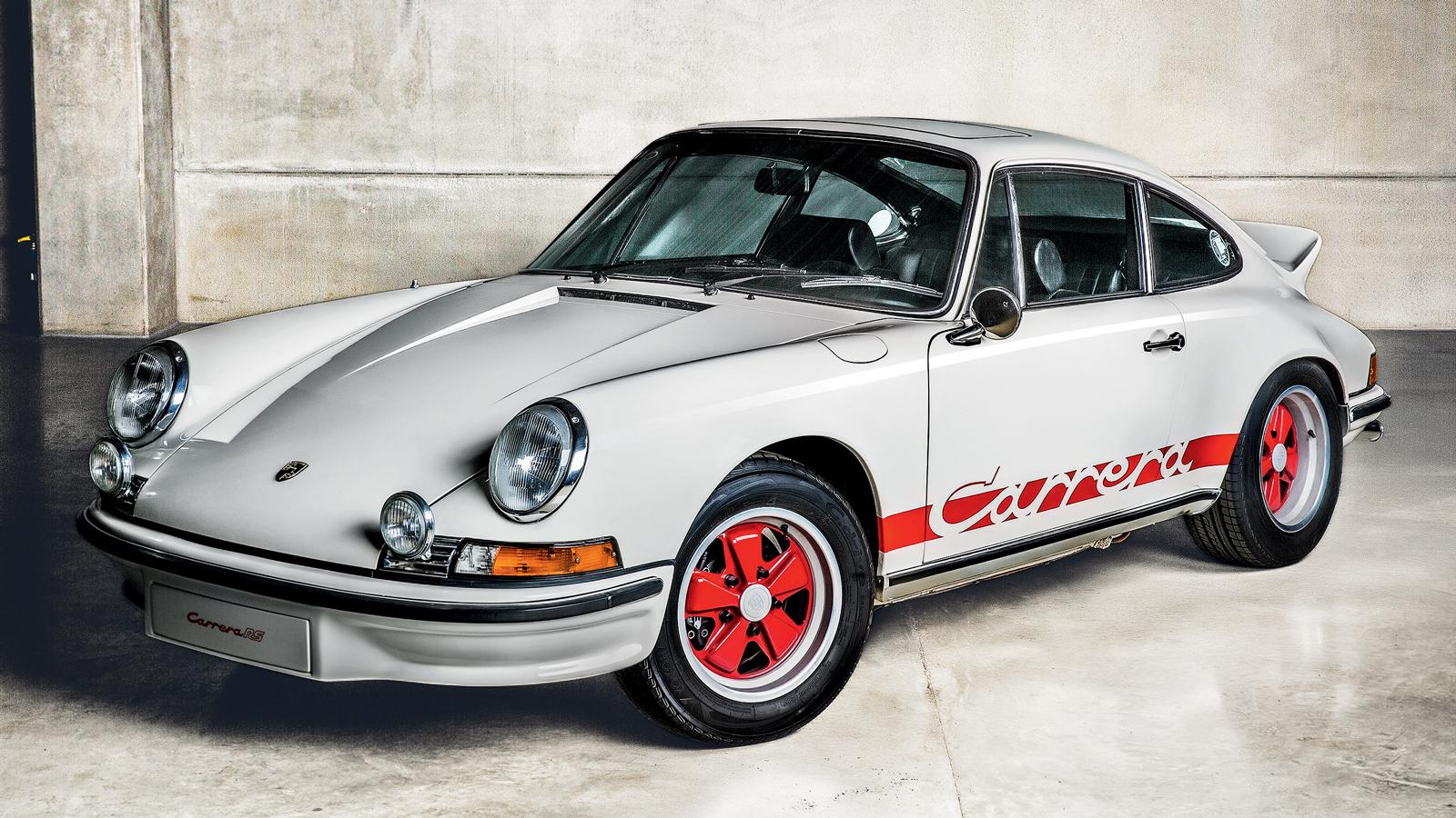 O RS era um 911 melhorado em peso, motor e aerodinâmica
