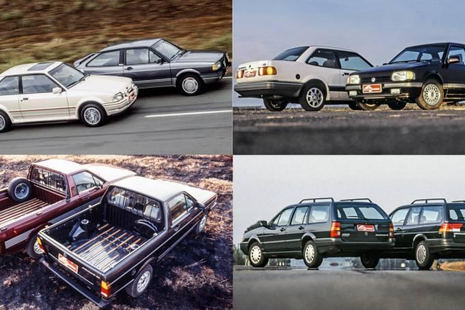Grandes Comparativos: Ford x VW nos tempos da Autolatina