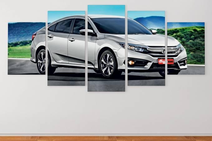 Os Eleitos 207 – sedãs médios – Honda Civic