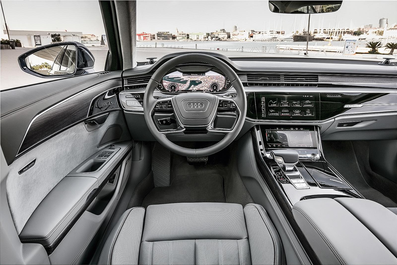 A8 2018: 5,30 metros de luxo, conforto e tecnologia