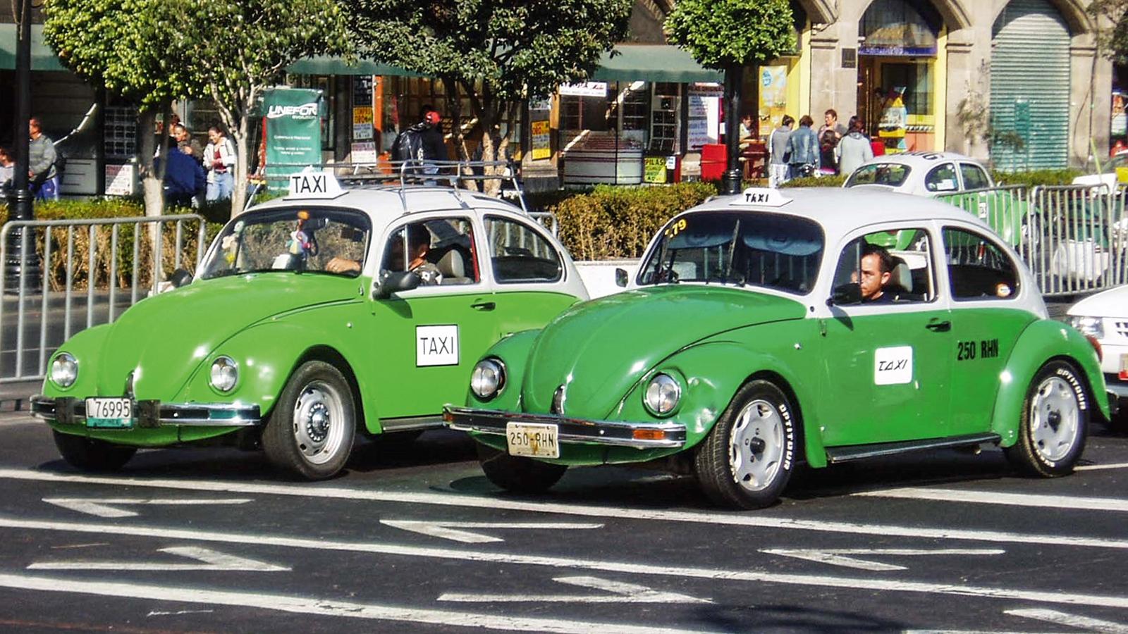 Fuscas táxis
