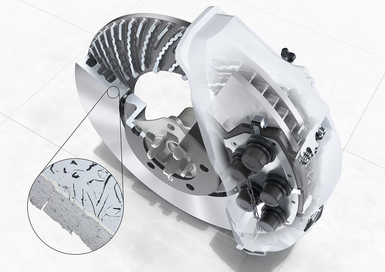 Disco de freio PCSB Porsche
