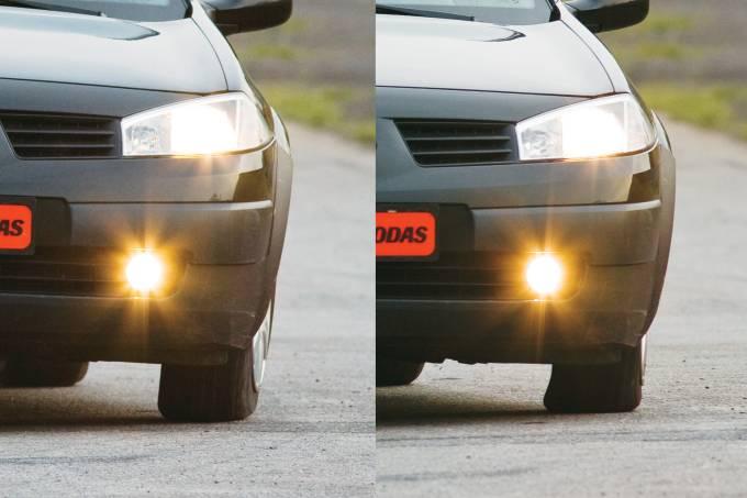 Renault Mégane – pneus com pressão baixa