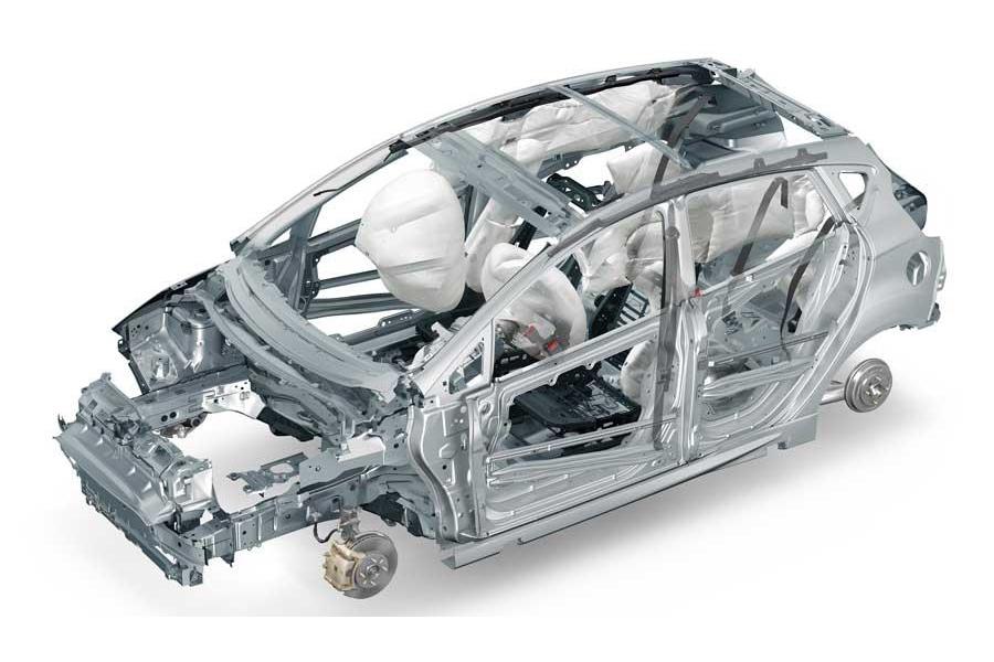 estrutura ford fiesta