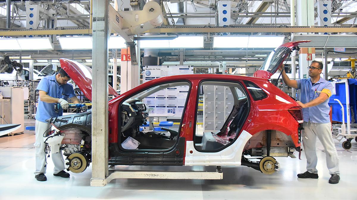Fabricação novo Volkswagen Polo