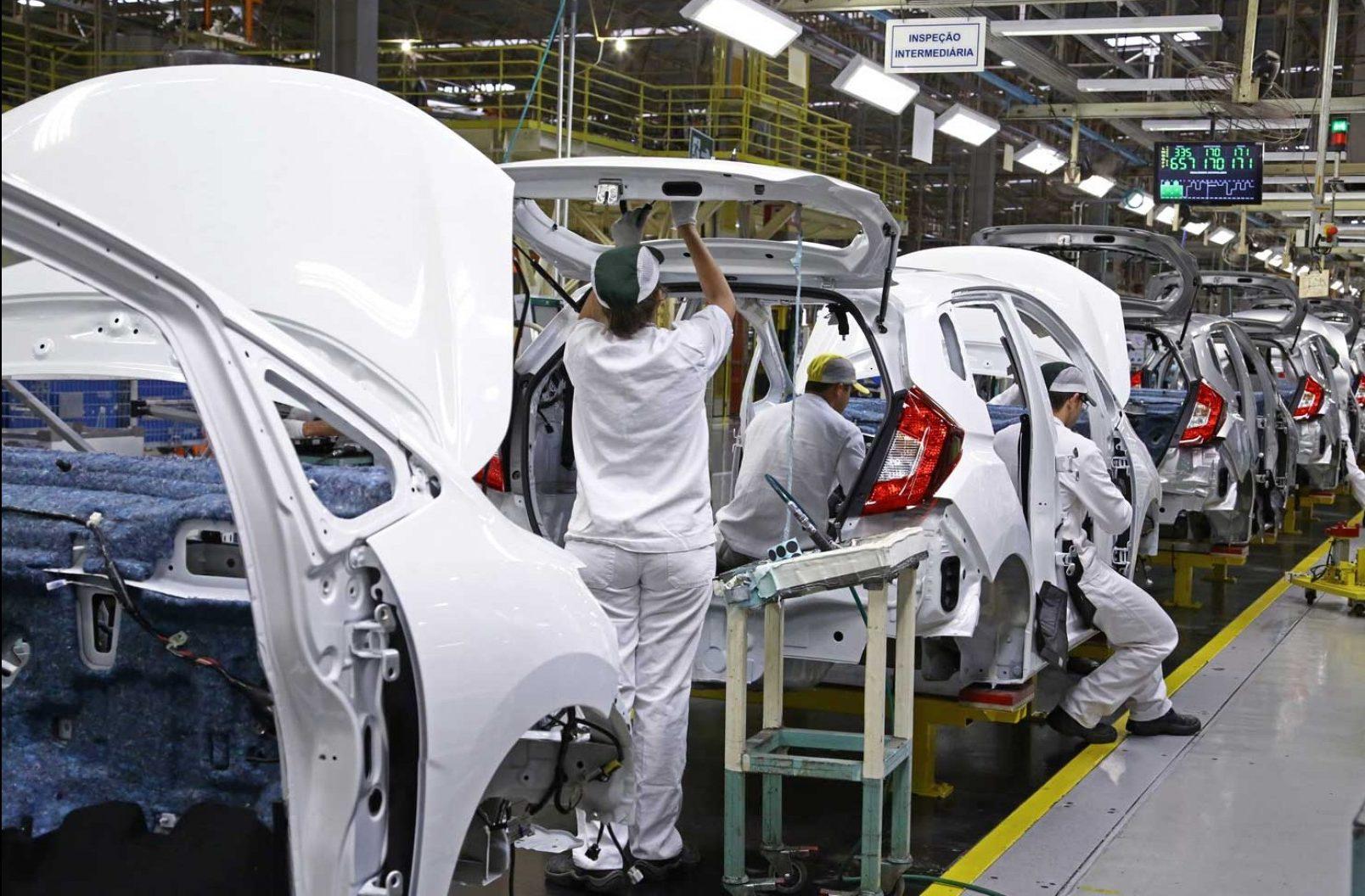 Fabricação Honda Fit