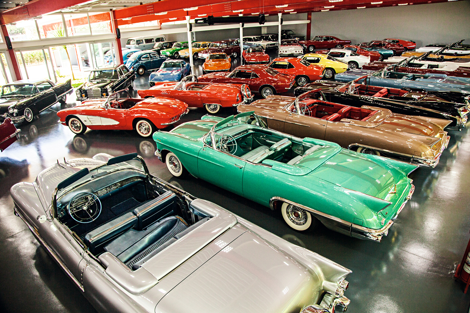 A coleção foi sendo construída ao longo de 40 anos