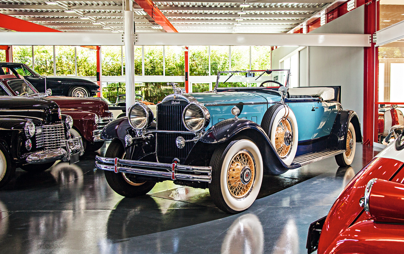 O Packard 1930 foi premiado em um concurso de elegância paulista