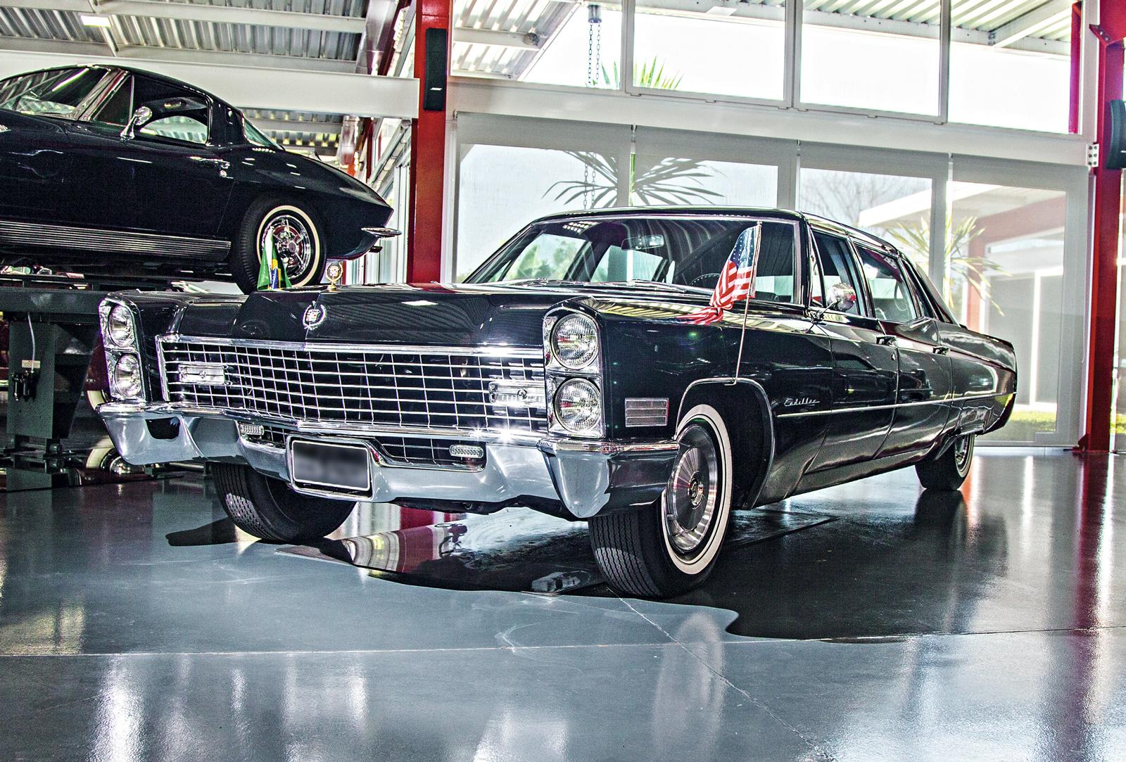 Cadillac 1967 foi do embaixador dos EUA
