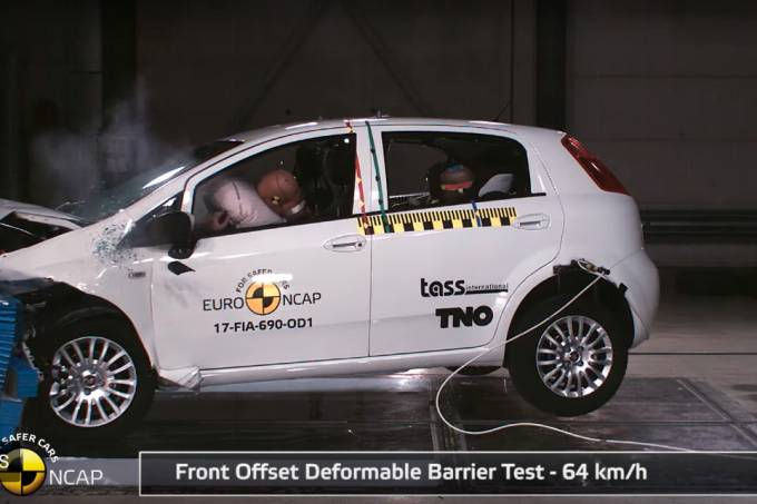Fiat Punto Crash Test 1