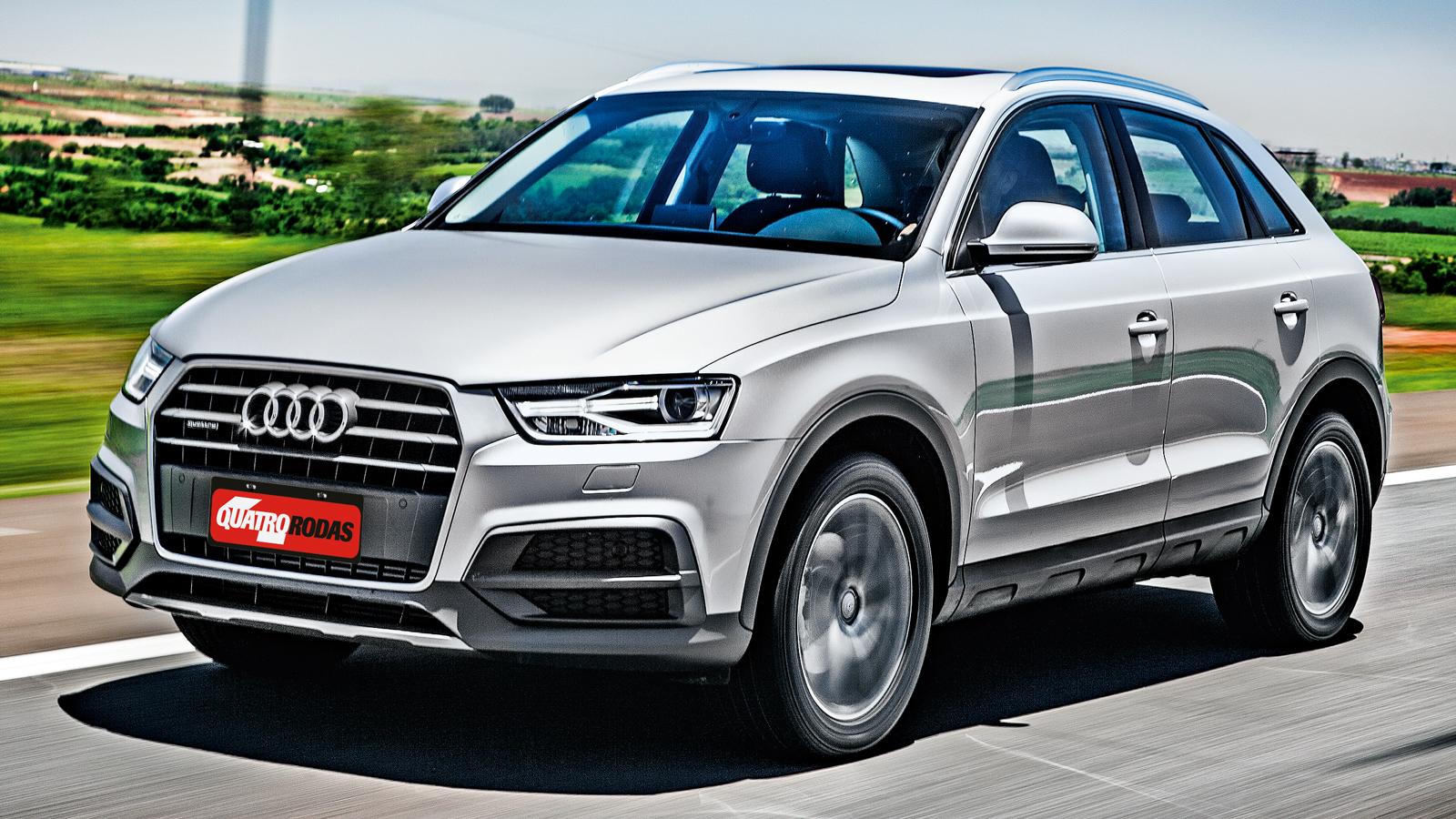 Teste Audi Q3 Ambition 2 0 Tfsi E Tao Rapido Quanto Um Golf Gti Quatro Rodas