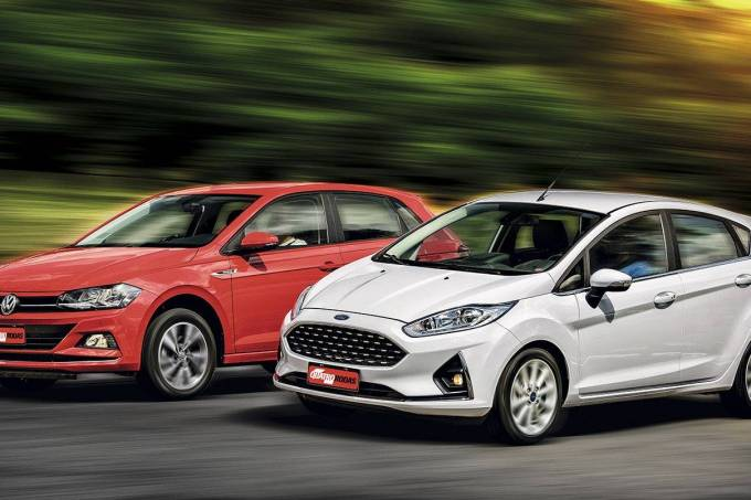 Comparativo: Ford Fiesta x VW Polo