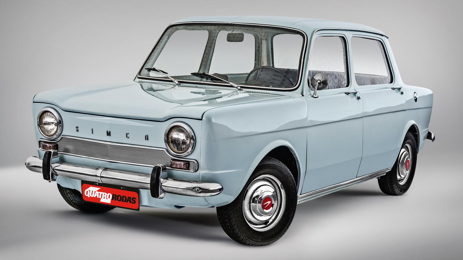 O Simca 1000 deu origem à célebre versão Rallye em 1970