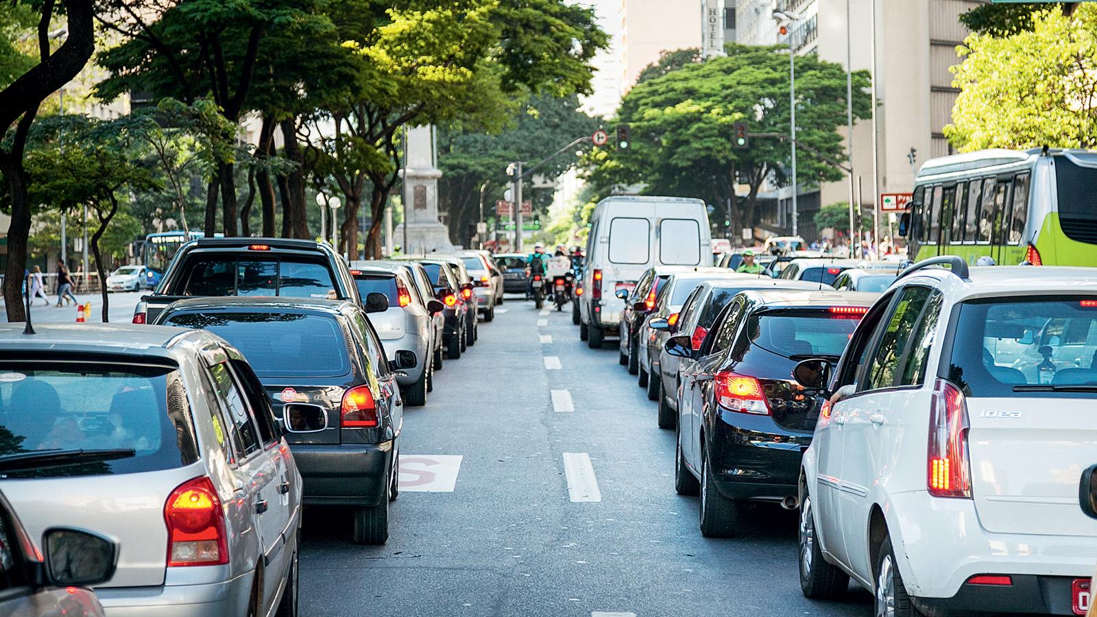 Trânsito pesado: clássico caso de uso severo