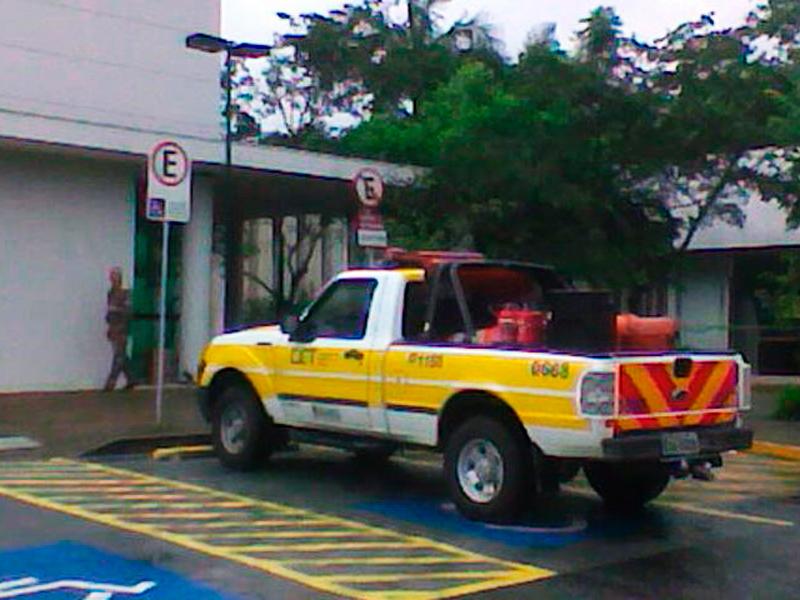 Vagas para deficientes físicos ocupam 2% das vagas de estacionamentos
