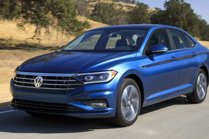 Novo Volkswagen Jetta Dianteira Dinâmica