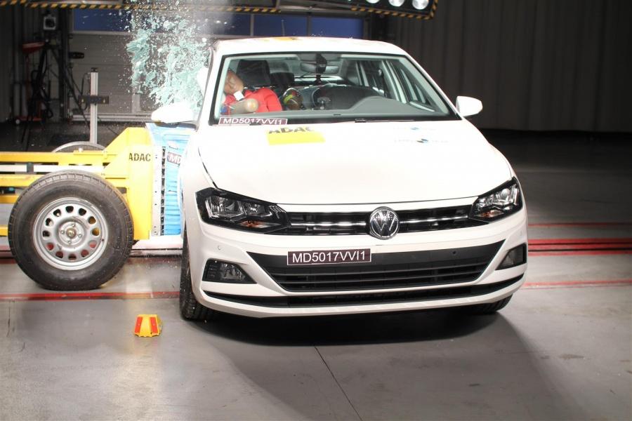 Crash-test VW Virtus 2018