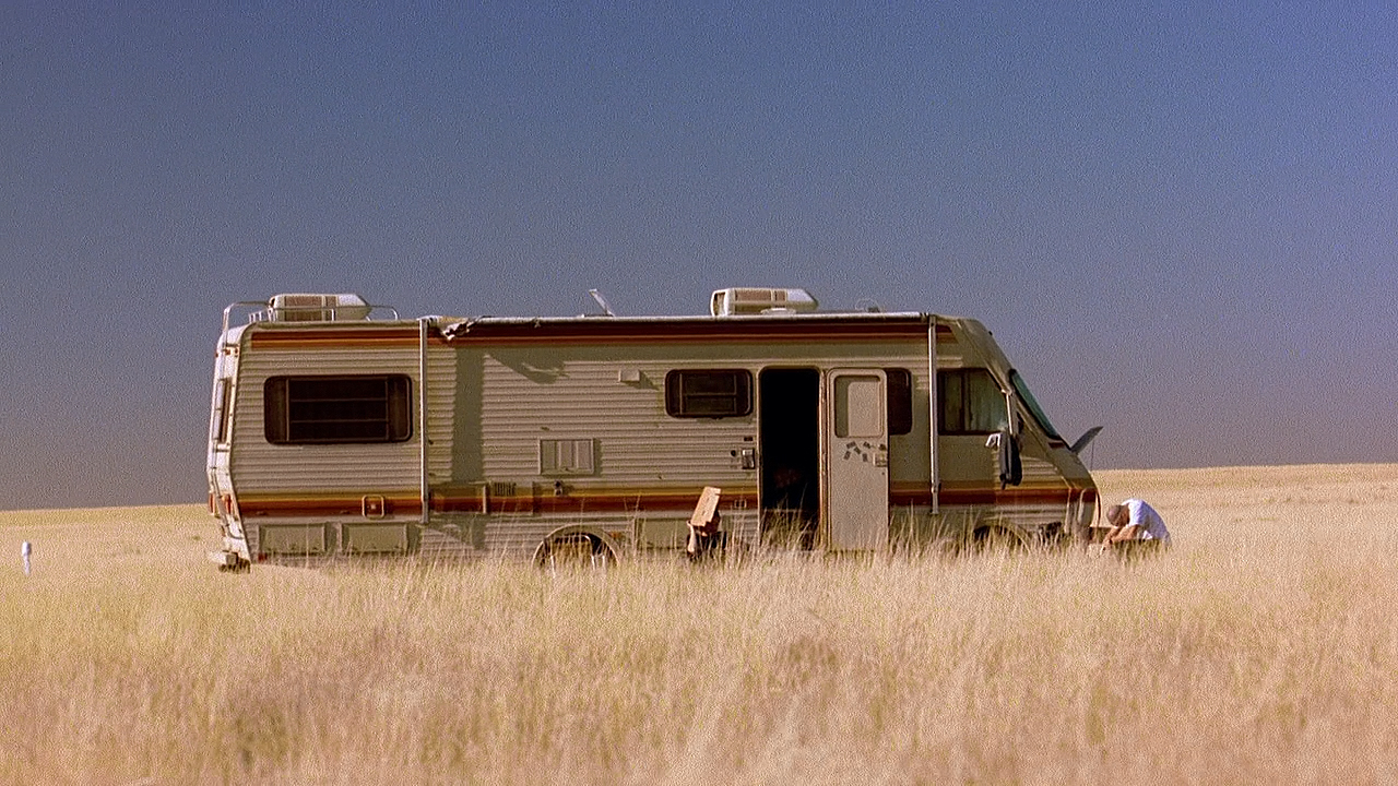 Fleetwood Bounder de 1986, trailer famoso do seriado americano Breaking Bad