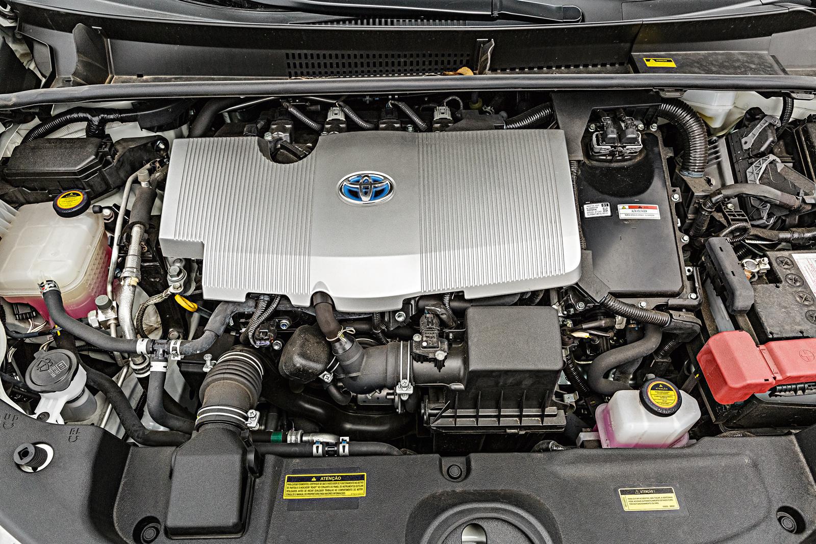 Motor 1.8 do Prius tem 98 cavalos