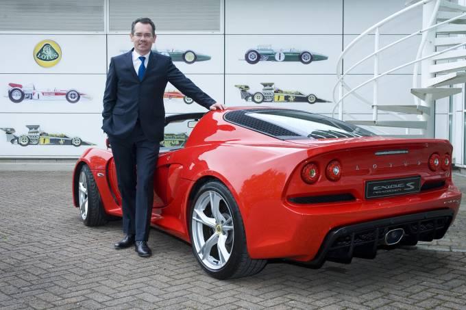 jean-marc-gales presidente Lotus