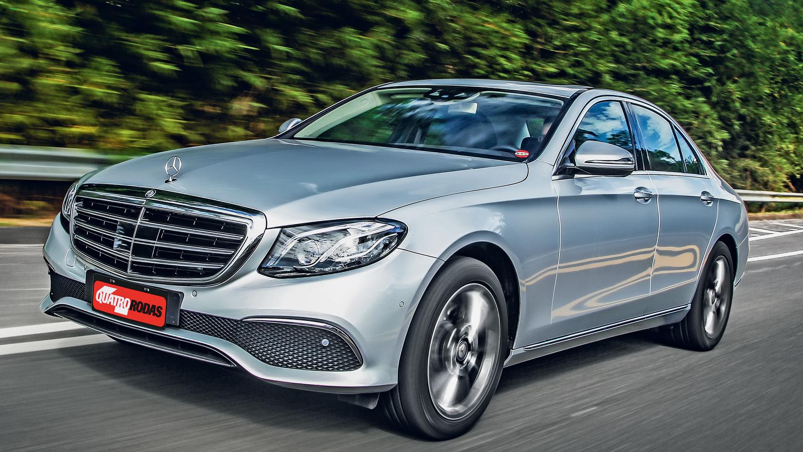 Radar frontal da Mercedes E 250 custa R$19.600