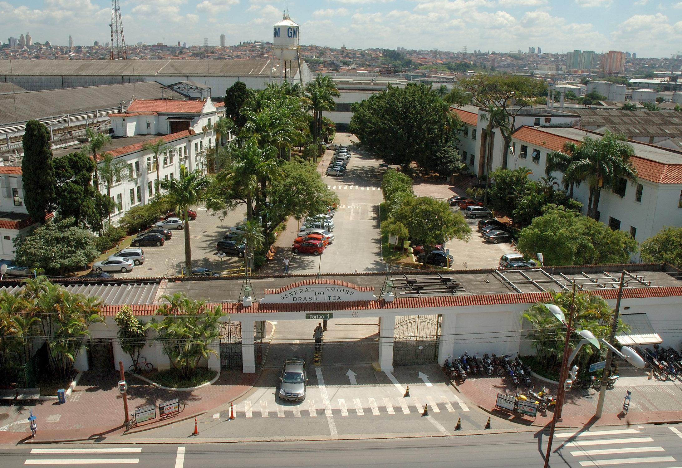 Complexo Industrial da GM em São Caetano