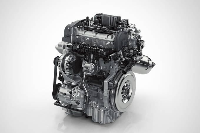 Motor de 3 cilindros Volvo