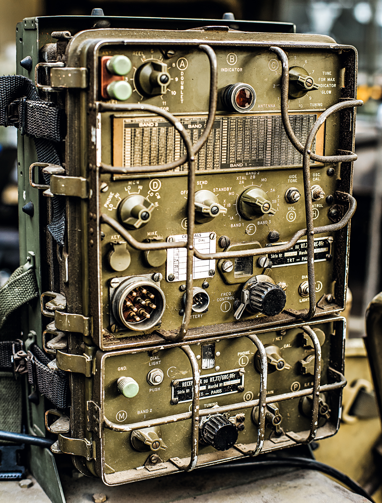 O rádio é um original de 1946