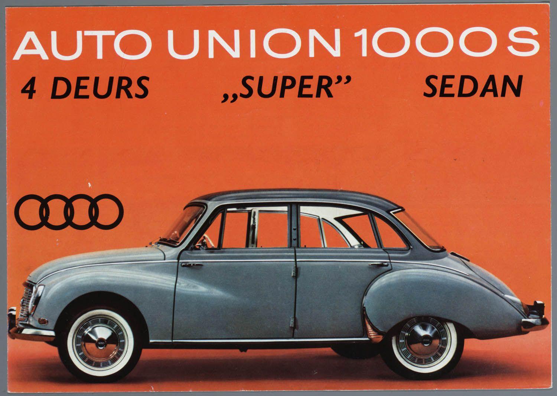 Auto Union 1000 S Saloon
