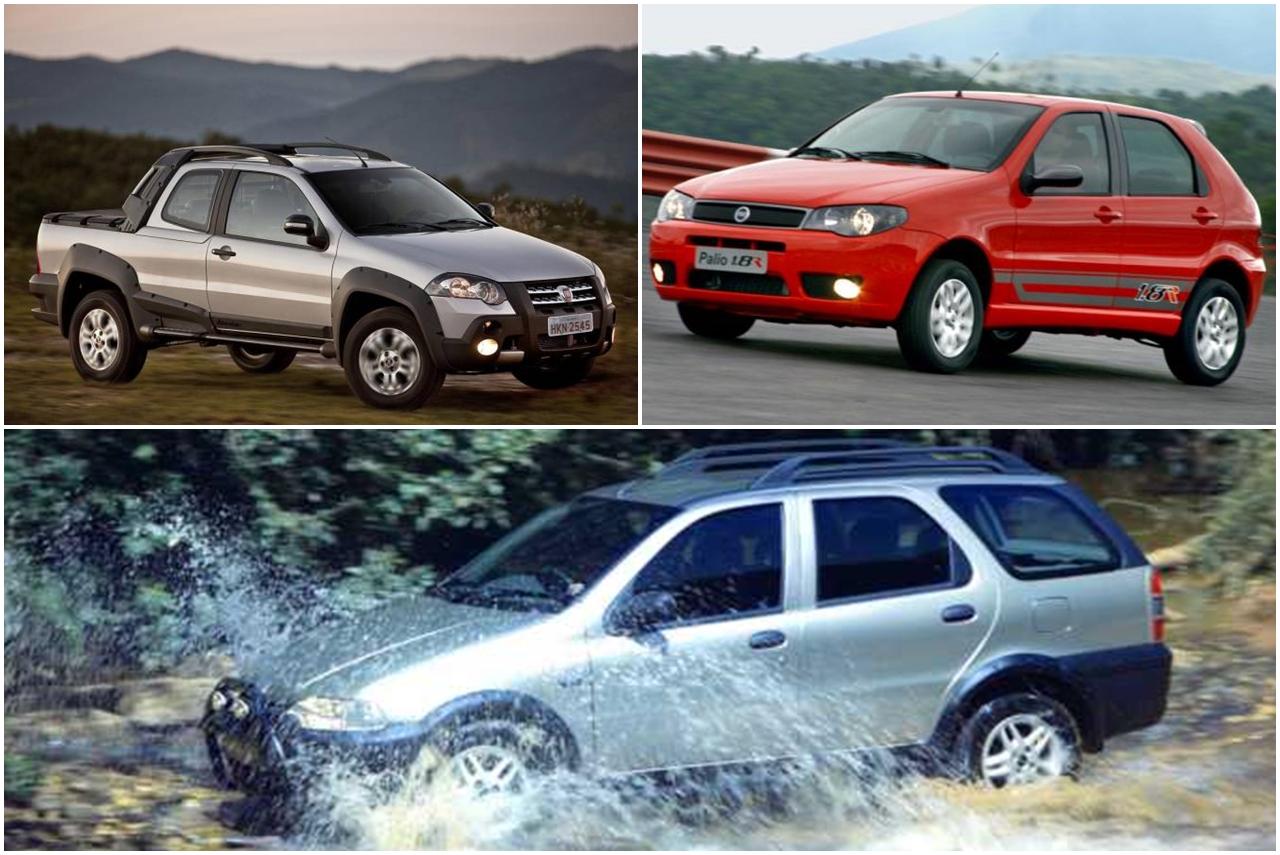 Versões mais legais do Fiat Palio