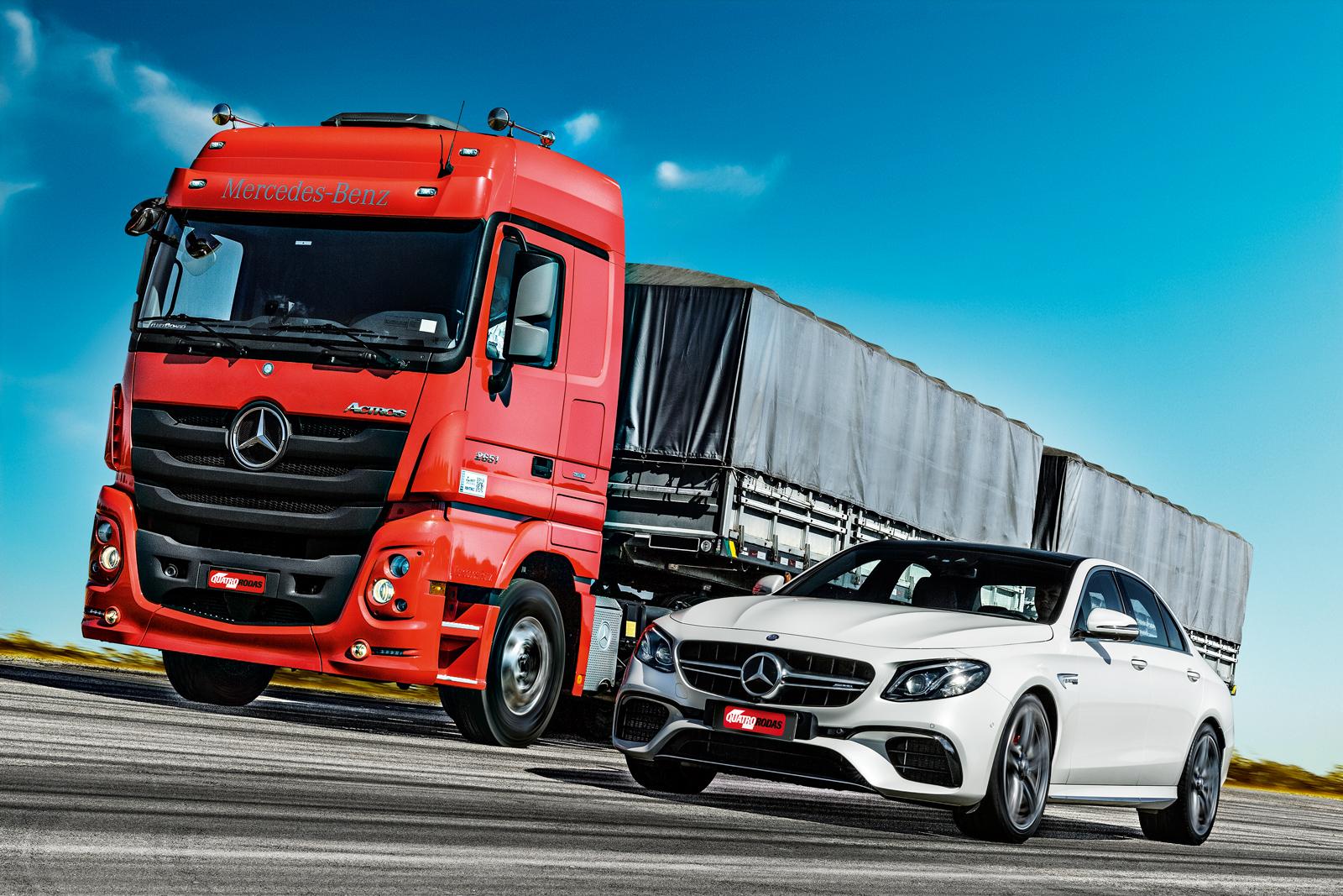 Mercedes-Benz Actros e Mercedes-AMG e 63 S