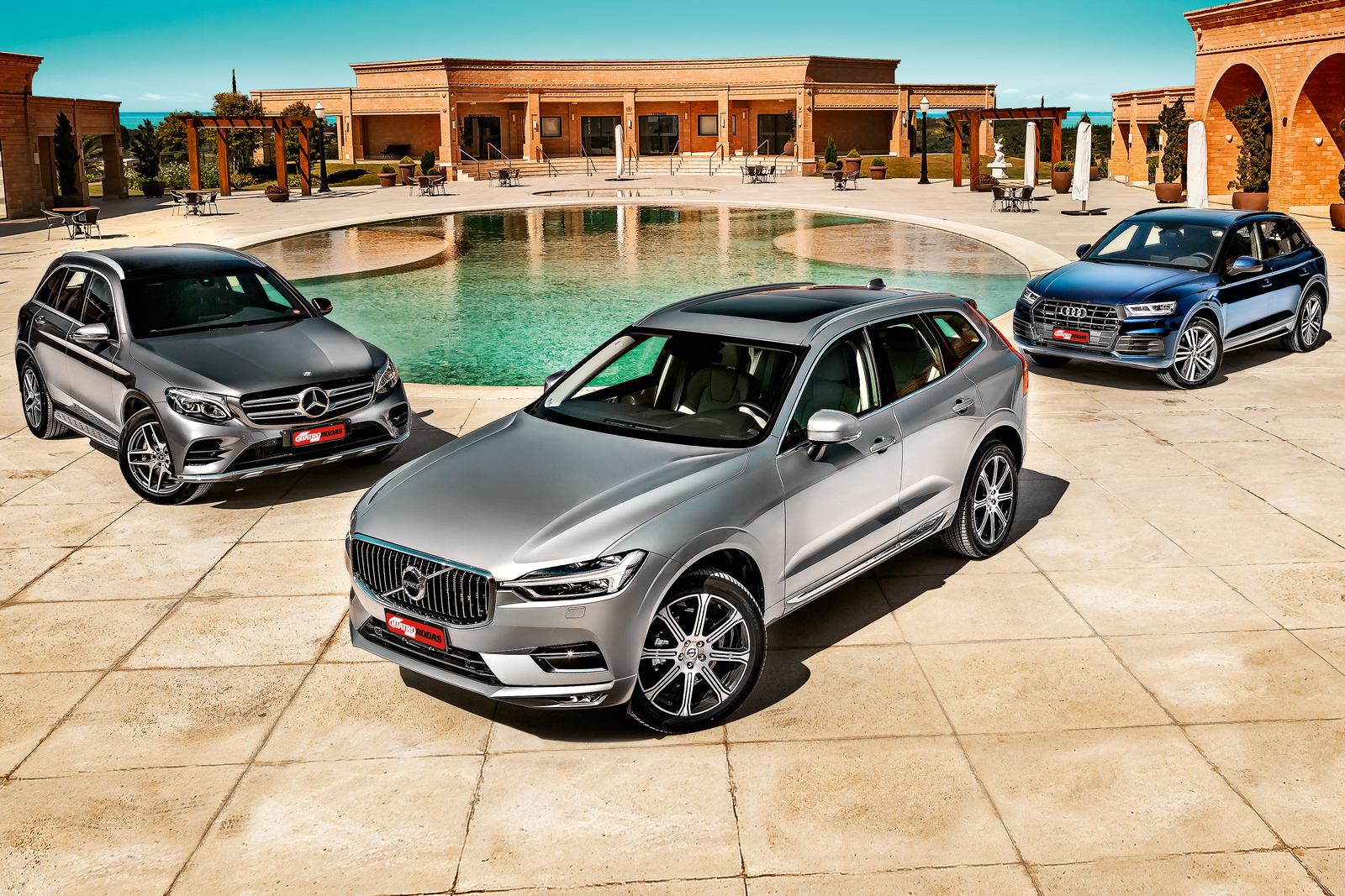 Audi Q5 x Mercedes GLC x Volvo XC60
