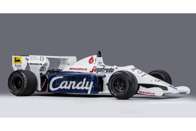 Toleman de Senna