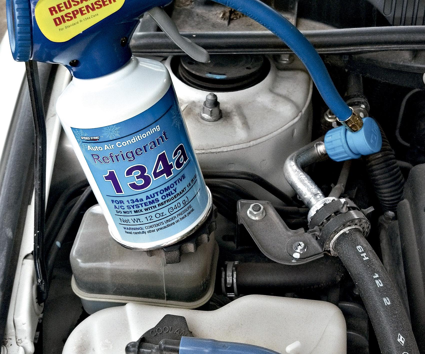 recarga de gas