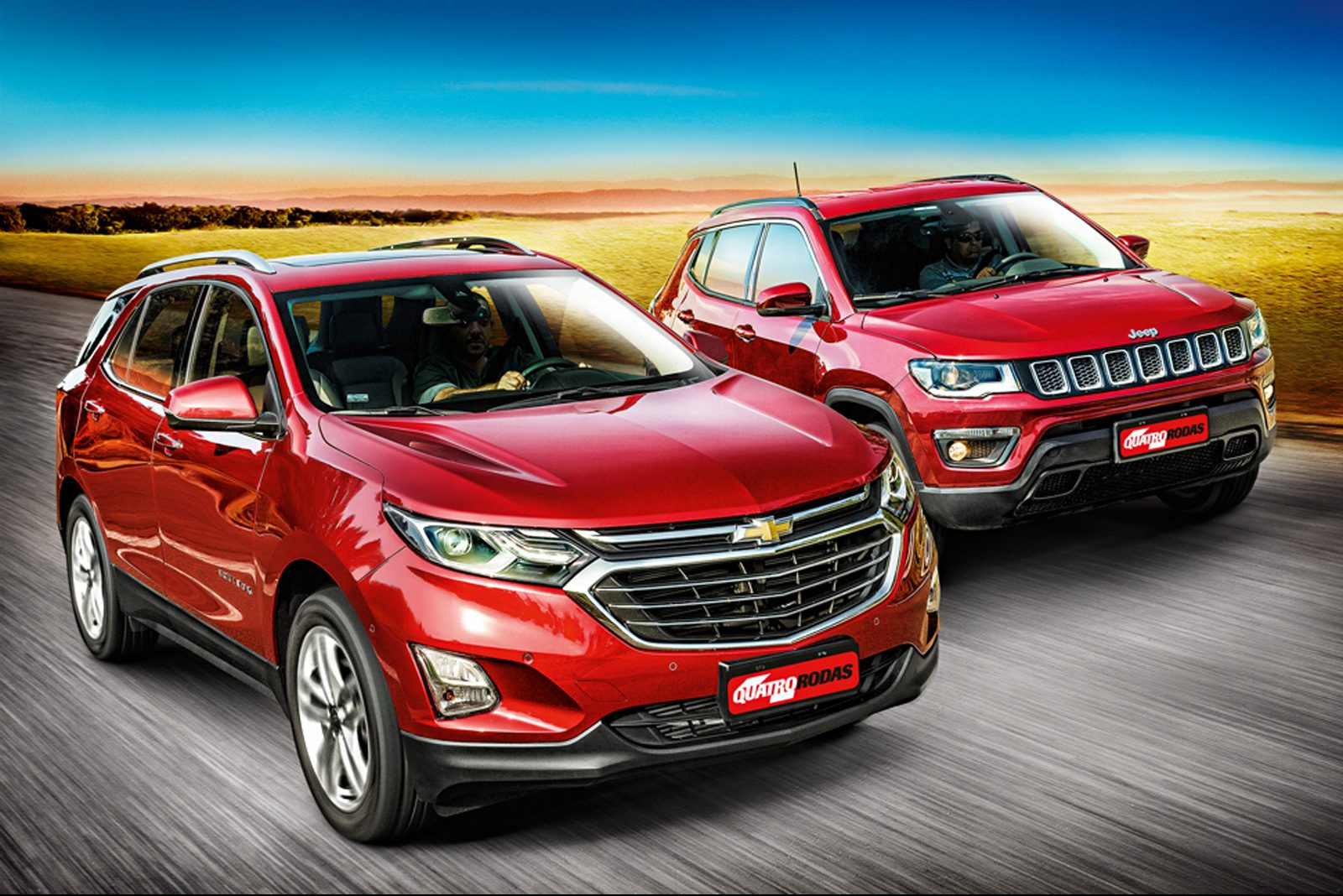 Chevrolet Equinox x Jeep Compass