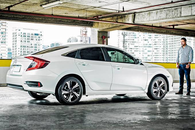 Autodefesa: Honda Civic