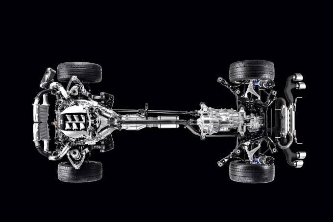 Nissan GT-R transmissão