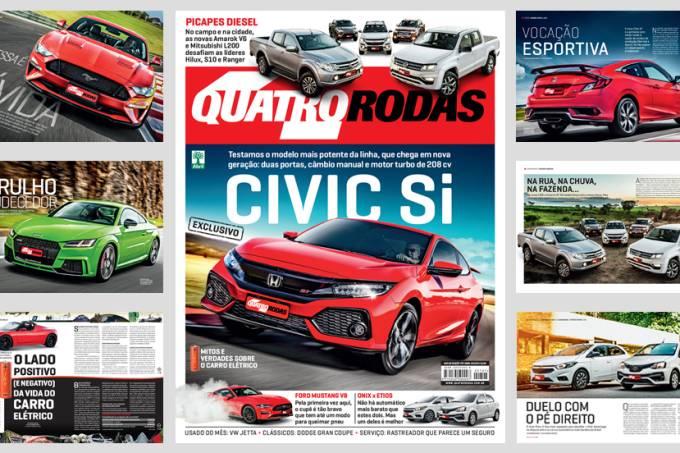 QUATRO RODAS – edição 707 – abril de 2018