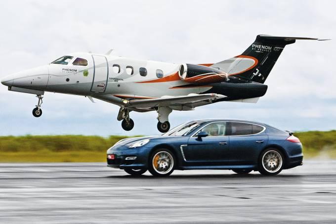 Grandes Comparativos: Porsche Panamera x Phenom 100